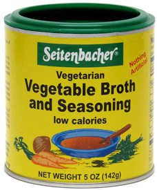 Vegetable Broth and Seasoning by Seitenbacher