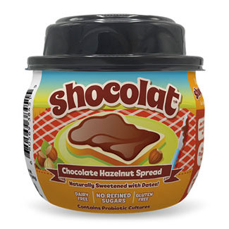 "Shocolat Chocolate Hazelnut Spread (Has a ""Best By"" date of 10-9-19) LARGE"