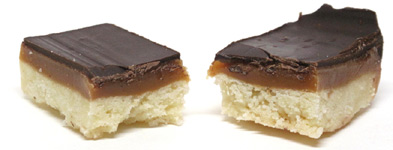 Millionaire's Chocolate Caramel Shortbread Cookies Single Cookie Pack LARGE