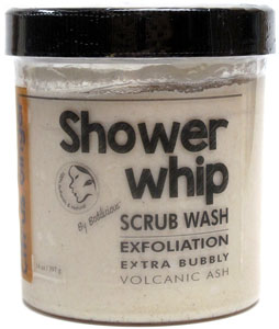 Citrus Ginger Shower Whip Scrub Wash by Bodilicious LARGE