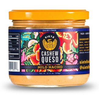 Mild Nacho Cashew Queso Dip by Siete Foods MAIN