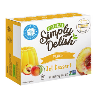 Simply Delish Sugar-Free Jel Dessert - Peach MAIN