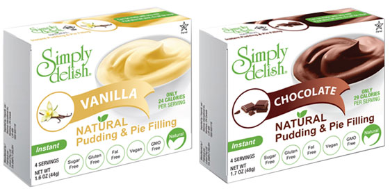 Simply Delish Pudding & Pie Filling Mix
