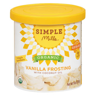 Simple Mills Organic Frosting - Vanilla MAIN