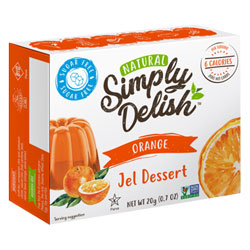 Simply Delish Sugar-Free Jel Dessert - Orange THUMBNAIL