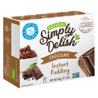 Simply Delish Pudding & Pie Filling Mix - Chocolate MAIN