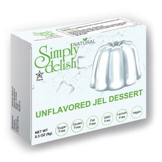Simply Delish Natural Unflavored Unsweetened Jel MAIN
