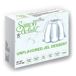 Simply Delish Natural Unflavored Unsweetened Jel THUMBNAIL