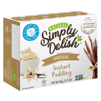 Simply Delish Pudding & Pie Filling Mix - Vanilla MAIN