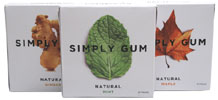 Simply Gum Natural Vegan Chewing Gum