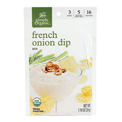 French Onion Dip Mix by Simply Organic THUMBNAIL