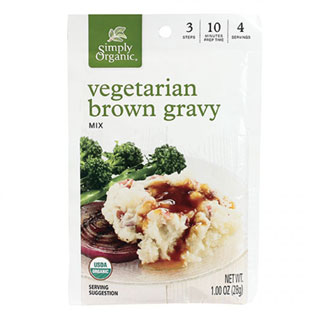 Organic Brown Gravy Mix by Simply Organic MAIN