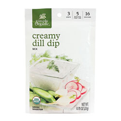 Creamy Dill Dip Mix by Simply Organic THUMBNAIL