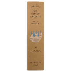 Milk-Style Chocolate Sea Salted Caramel Gift Box by Sjaak's Organics THUMBNAIL