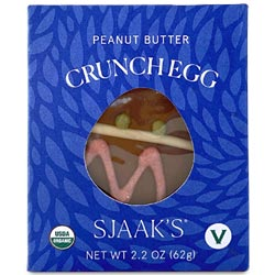 Organic Peanut Butter & Chocolate Crunch Egg by Sjaaks - Milk Style THUMBNAIL