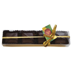 Sjaak's Organic Milk-Style Chocolate Covered Salted Caramel Gift Boxes THUMBNAIL