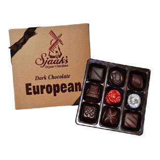 European Dark Chocolate Assortment by Sjaak's Organics MAIN