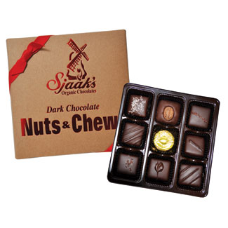 Dark Chocolate Nuts & Chews Assortment by Sjaak's Organics MAIN