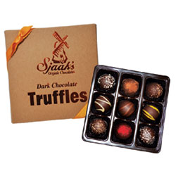 Sjaak's Organic Dark Chocolate Truffle Assortment THUMBNAIL