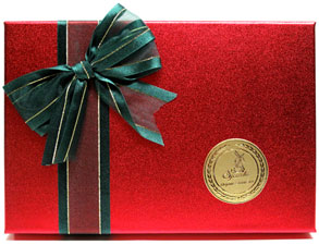 Fancy Organic Chocolate Assortment Gift Box by Sjaaks