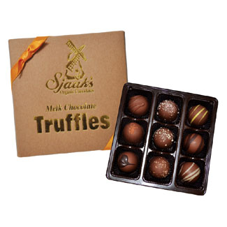 Sjaak's Organic Milk-Style Chocolate Truffle Assortment MAIN