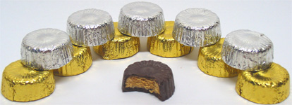 Organic Peanut Butter and Almond Butter Cups by Sjaaks