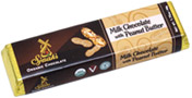 "Organic ""Milk"" Chocolate Peanut Butter Bar by Sjaaks"