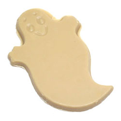 Organic White Chocolate Halloween Ghosts by Sjaak's THUMBNAIL