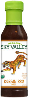 Sky Valley Organic Korean BBQ Sauce by Organicville Foods