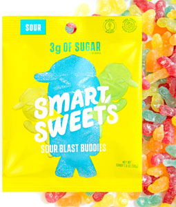 Smart Sweets Sour Blast Buddies Gummy Candies