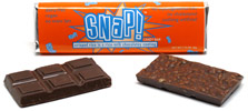 Snap! Crispy Rice Milk Chocolate Bar by Go Max Go Foods