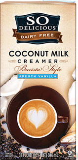 So Delicious Barista Style French Vanilla Coffee Creamer