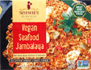Vegan Seafood Jambalaya by Sophie's Kitchen