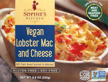 Vegan Lobster Mac & Cheese by Sophie's Kitchen