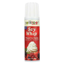 Soyatoo Whipped Soy Topping Can THUMBNAIL