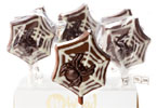 Chocolate Spider Lollipop by No Whey! Foods