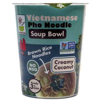 Creamy Coconut Vietnamese Pho Noodle Soup Bowl by Star Anise Foods MAIN