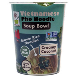 Creamy Coconut Vietnamese Pho Noodle Soup Bowl by Star Anise Foods THUMBNAIL