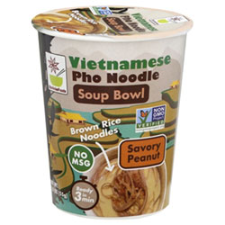 Savory Peanut Vietnamese Pho Noodle Soup Bowl by Star Anise Foods THUMBNAIL