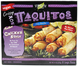 Crispy Soy Taquitos by Starlite Cuisine
