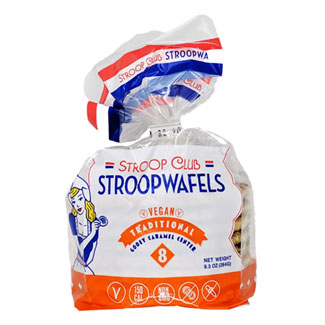 Vegan Stroopwafels by Stroop Clup - 8 pack MAIN