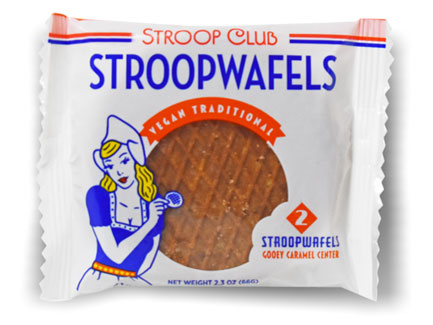 Vegan Stroopwafels by Stroop Clup - 2 pack_LARGE