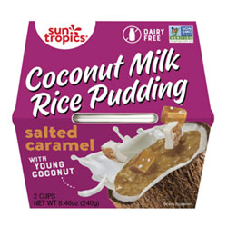 Sun Tropics Coconut Rice Pudding Snack Cups - Salted Caramel THUMBNAIL