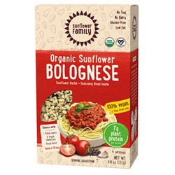 Organic Sunflower Protein Bolognese by Sunflower Family THUMBNAIL