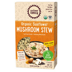 Organic Sunflower Protein Mushroom Stew by Sunflower Family THUMBNAIL