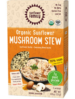 Organic Sunflower Protein Mushroom Stew by Sunflower Family LARGE