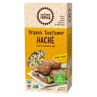 Organic Sunflower Haché Meatless Crumbles by Sunflower Family MAIN