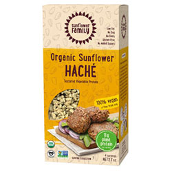 Organic Sunflower Haché Meatless Crumbles by Sunflower Family THUMBNAIL