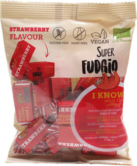 Super Fudgio Organic Strawberry Toffee Caramels
