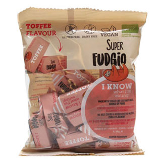Super Fudgio Organic Toffee Caramels LARGE